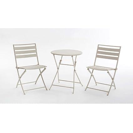 Tavolo Da Giardino Moderno Pieghevole.Combinazione Di Piccoli Tavoli Da Te Con Balcone Mobili Da Giardino