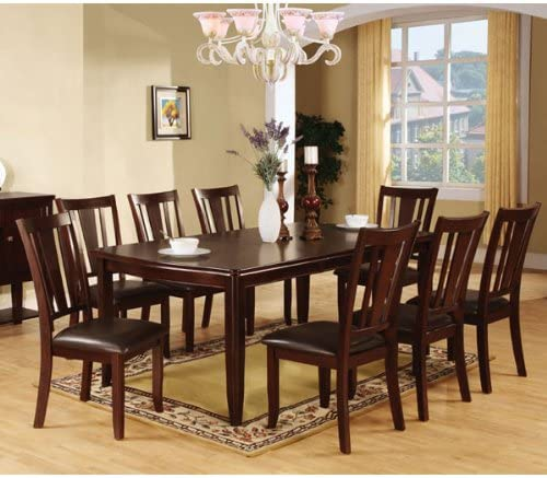 247SHOPATHOME dining-room-sets, 9-Piece, Brown