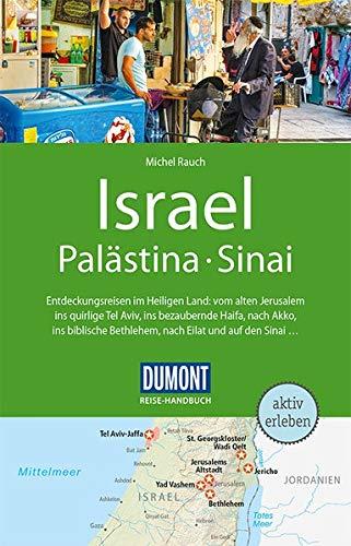 DuMont Reise Handbuch Reiseführer Israel Palästina Sinai  Mit Extra Reisekarte
