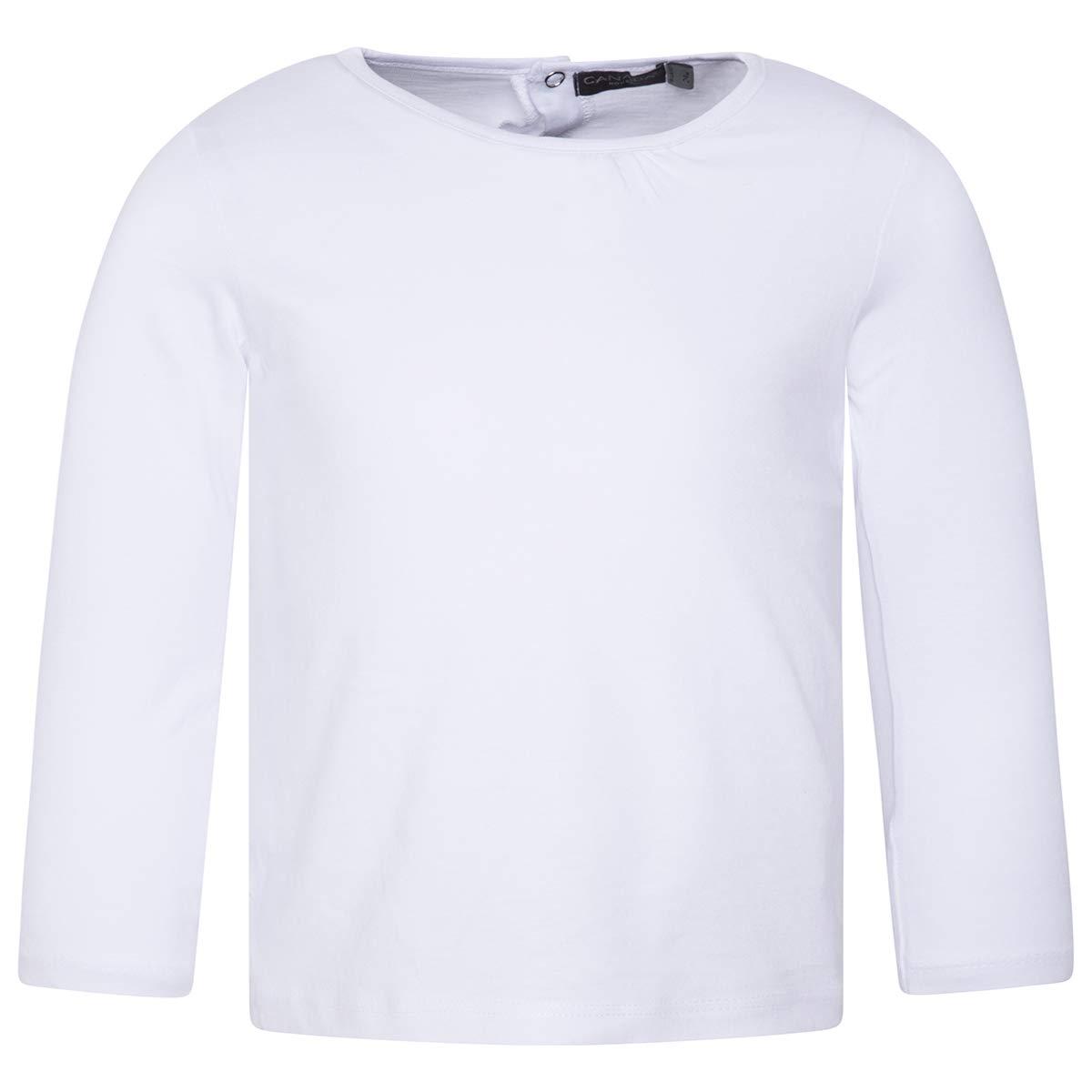 Canada House Camiseta bbplain beb/é ni/ño Blanca