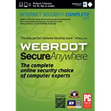 Webroot SecureAnywhere  Complete 2013  (5-Users)