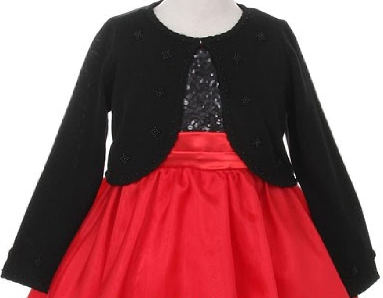 Blueberi Boulevard Girls Butterfly Jewel Shrug Sweater 13d36299c
