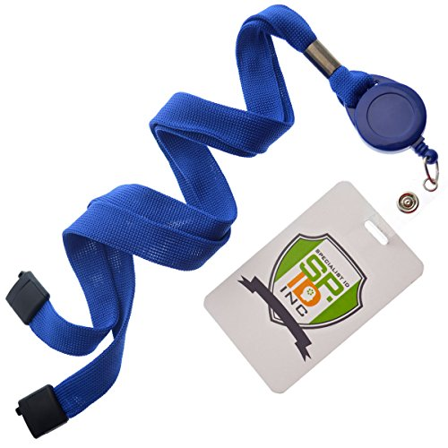 Royal Blue Badge Reel and Breakaway Lanyard Combo By Specialist ID, Packaged and Sold Individually Photo #2