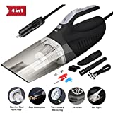 ProGreen 4-in-1 Handheld Car Vacuum Cleaner High Power 12V...