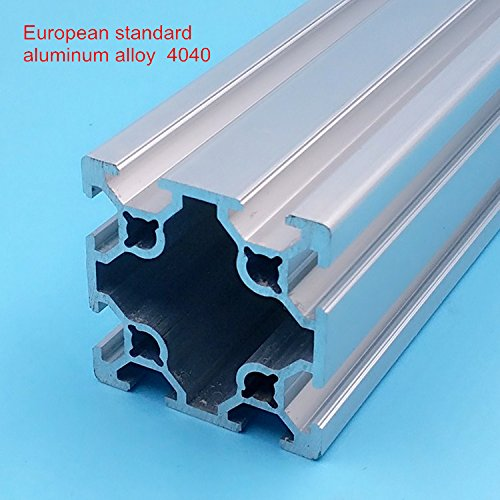 HEASEN CNC DIY V-Slot 4040 Linear Rail Aluminum Profile 4040 Extrusions