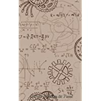 Carnet de Mots de Passe: A5 - 98 Pages - 108 - Steam Punk - Vintage - Equation - Mathematiques
