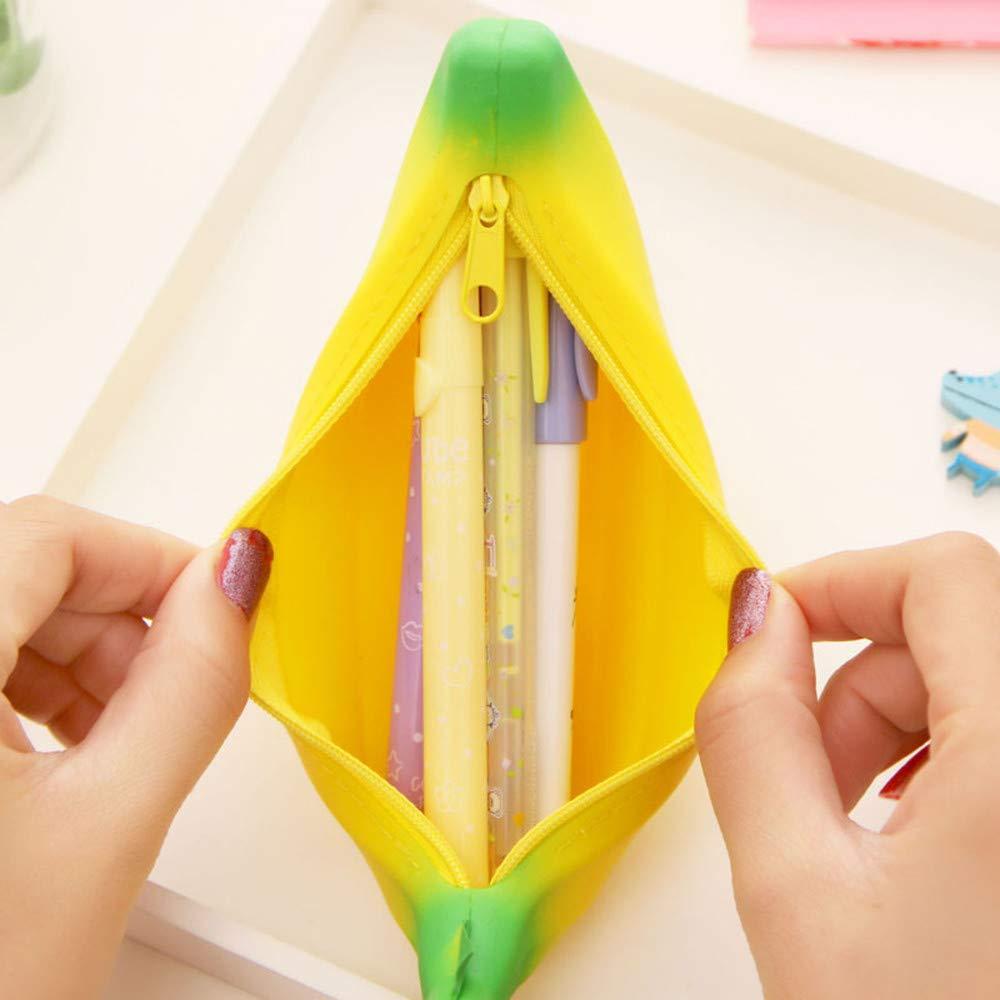 Amazon.com: KFSO Bolso de lápices, novedoso bolso de ...