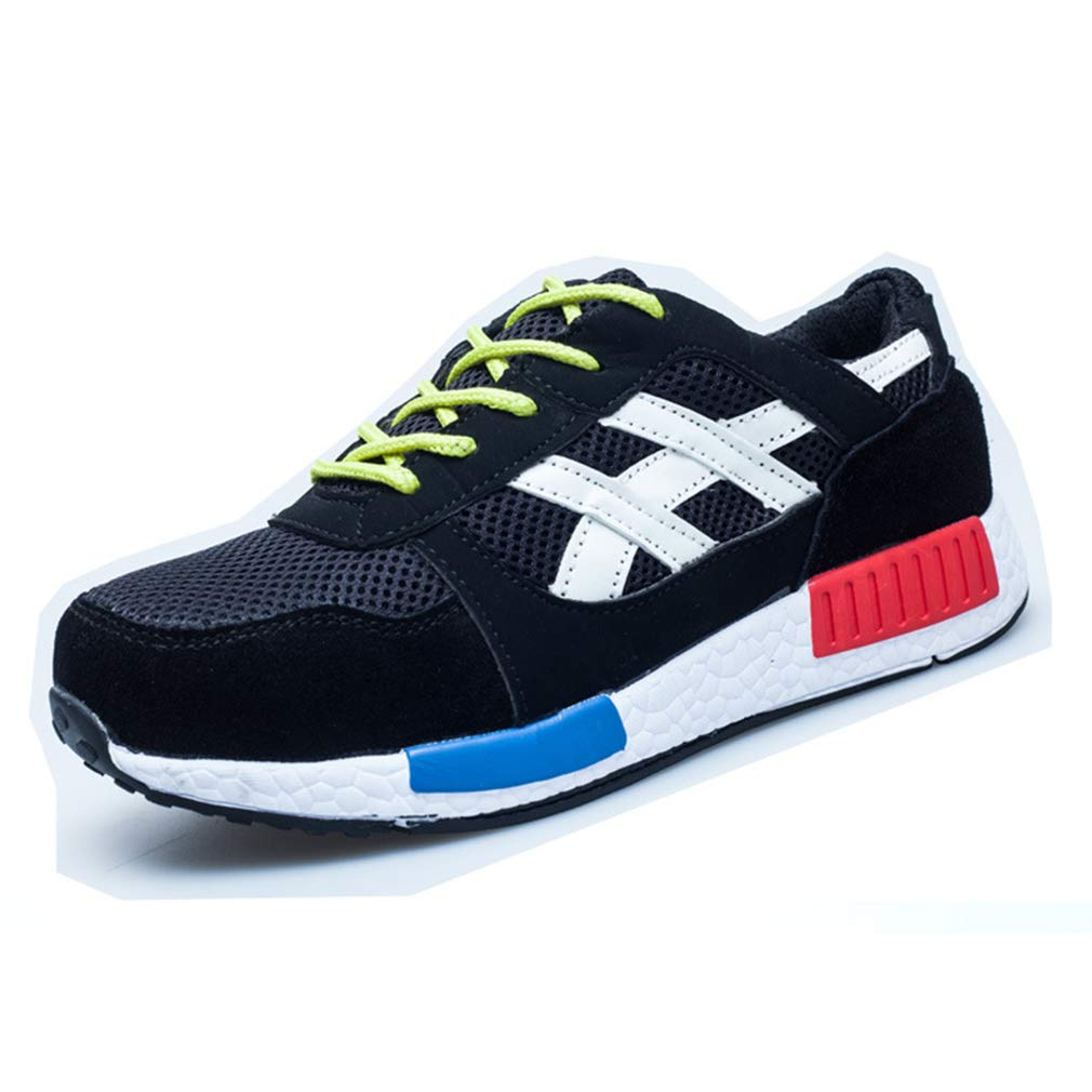 180806AQX03 Work Shoes Men Women Lightweight Steel Toe Cap Midsole Trainers Sneakers Juleya Safety Shoes