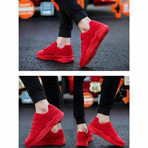 Sneaker Jogging Rot Schuhe xiaolin Schuhe Schuhe Flut Plate Freizeit Rote Kleine Herrenschuhe UR4ZxqU