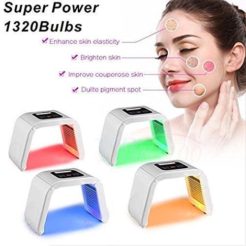 Airblasters PDT LED 4 in 1 Photon Treatment Skin Facial Treatment Salon Spa Beauty Equipment Photon Treatment Machine LED Face skin care Light