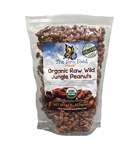 Organic Wild Jungle Peanuts, 16oz