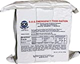 SOS Food Labs, Inc. 185000825 S.O.S. Rations EMERGENCY 3600 Calorie Food bar - 3 Day/ 72 Hour Package with 5 Year Shelf Life, 5