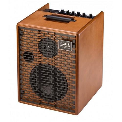 Acus Sound Engineering 03000611 OneforStreet Battery Powered Acoustic Guitar Amplifier - Wood by Acus Sound Engineering