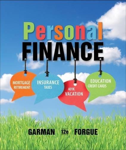 Personal Finance MindTap Course List