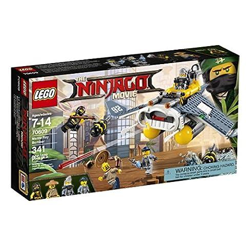 LEGO Ninjago Manta Ray Bomber 70609 Building Kit (341 Piece) (Legos Movie For Boys)