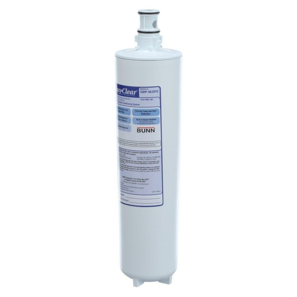 BUNN Easy Clear Water Filter Cartridge for EQHP-10L