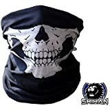 HSkull Bandana Bike Motorcycle Helmet Neck'SKULL' Face Mask Paintball Ski Sport Headband face Bandana SKELETON Ski Motorcycle Biker Paintball Mask Scarf