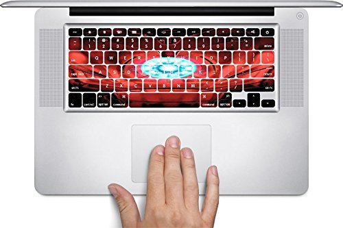 [해외]LE 갑옷 가슴 갑옷 Macbook 키보드 데칼 (11 인치 공기에 맞음)/Chest Armor Macbook Keyboard Decals (Fits 11 inch Air) by LE Prints