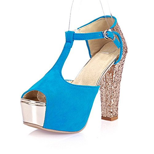 Mode Mode Givré Balamasa Dames Sandales Paillettes Dames Paillettes Balamasa Bleu Givré Sandales Bleu 6qnp4