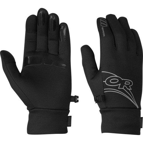 UPC 727602291833, Outdoor Research Women's PL Sensor Gloves, Black, Large