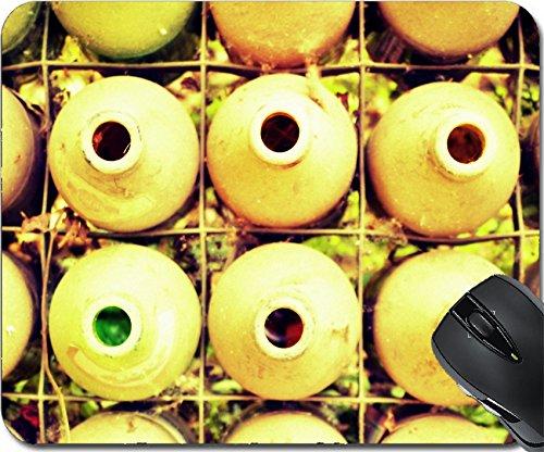 MSD Mousepad Mouse Pads/Mat design 34736461 Old beer bottles background