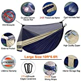 Hieha Double Camping Hammock with Net for 2