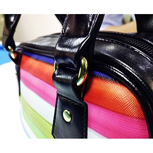 Handbag Leather FOR Crossbody Blue DESIGNS Flag PU Women U Top Fashion Handle Bag RqS1xUwq