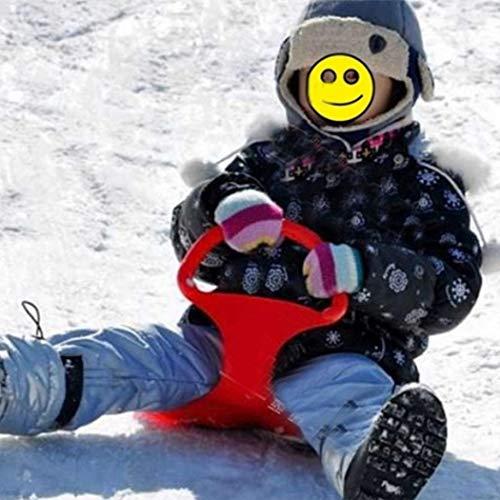 erholi Durable Strong Outdoor Grass Snow Desert Gliding Board Ski Board Bindings