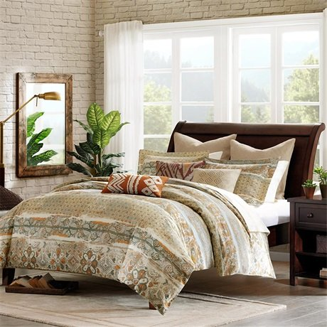 Harbor House Castle Hill Duvet Cover Multi King