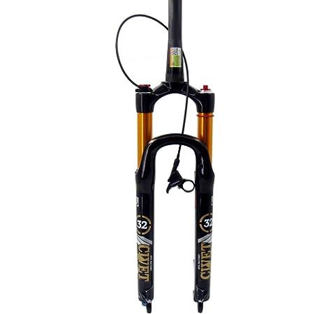 Horquilla eléctrica para bicicleta de 66 x 10 cm y eje de 135 mm ...
