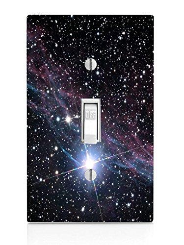 Nebula Galaxy Galaxy Spaceデザインパターン印刷イメージライトスイッチプレート Nebula B01AOI9J7C B01AOI9J7C, べりはやっ!:00359489 --- gamenavi.club
