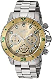 Invicta Men's Pro Diver Chrono Stainless Steel Champagne Dial Watch (21888)