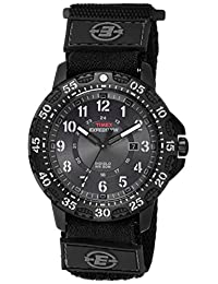 Timex Men's T49997 Expedition Gallatin Black Fast Wrap Velcro Strap Watch