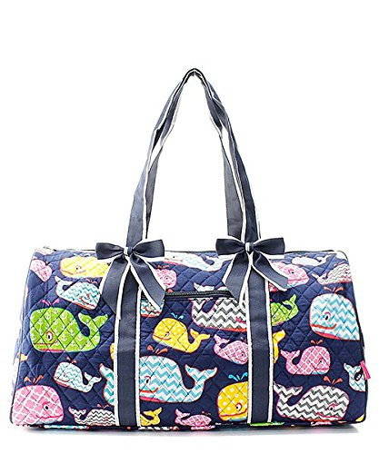 Quilted Whale Shoulder Duffel Bag by NGIL (Image #3)