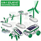 6 in 1 Educational Solar Robot Energy Kit Science Projects For Kids