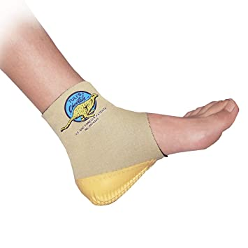 9fcfc14346 Tuli's Cheetah Heel Cup with Compression Ankle Support Sleeve, Foot  Protection for Gymnasts and Dancers
