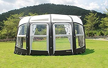 2018 Camptech Prestige DL 400 All Season Inflatable Caravan Awning