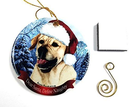 Labrador (Yellow) Christmas Ornament 3