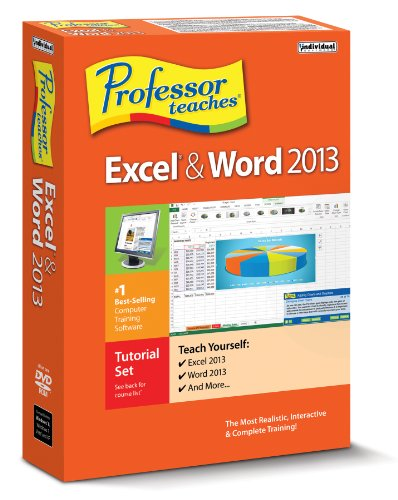 Professor Teaches Excel & Word 2013 Windows PMM-E13