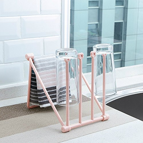 MEOLY Folding Cothes Drying Rack Plastic Foldable Dryer Rack