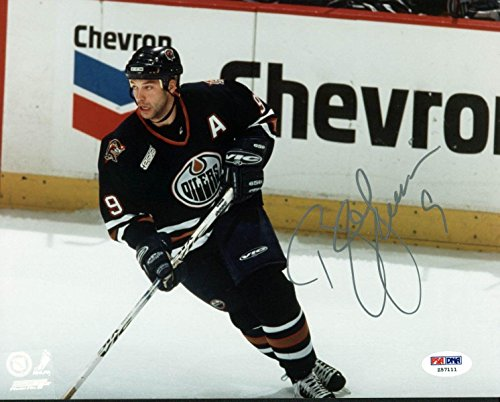 (Bill Guerin Signed Photograph - 8X10#Z57111 - PSA/DNA Certified - Autographed NHL Photos)