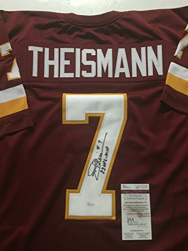 Memorabilia Washington (Autographed/Signed Joe Theismann