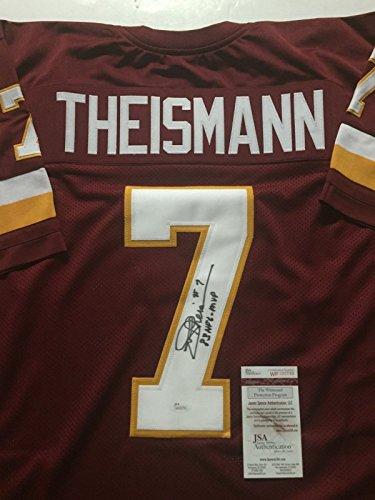 Washington Memorabilia (Autographed/Signed Joe Theismann