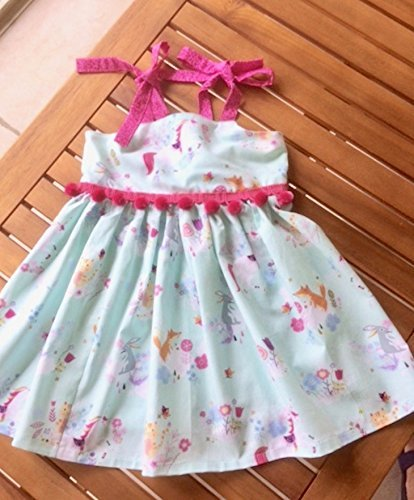 Unicorn Easter dress, birthday or special occasion dress.
