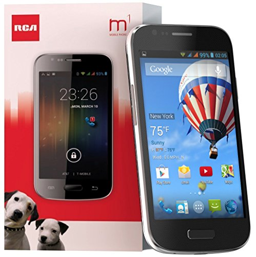 RCA M1 Unlocked Cell Phone, Dual Sim, 5Mp...