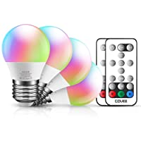 Deals on 4-Pack Govee RGBW LED Light Bulbs Dimmable