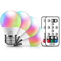 4-Pack Govee 30-Watt Color Changing Dimmable LED Light Bulb