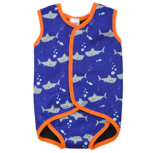 Limited Edition Suit - Splash About Baby Wrap Neoprene Wetsuit (Limited Edition Shark Prink, Large)