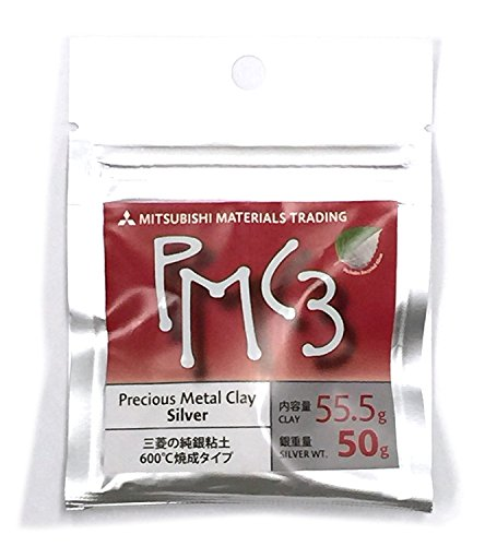 - Mitsubishi PMC3 Precious Metal Clay Silver 50 grams(Japan Import)