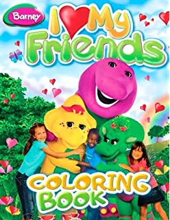 Amazon.com: Barney Look at Me! Coloring and Activity Book: Toys & Games